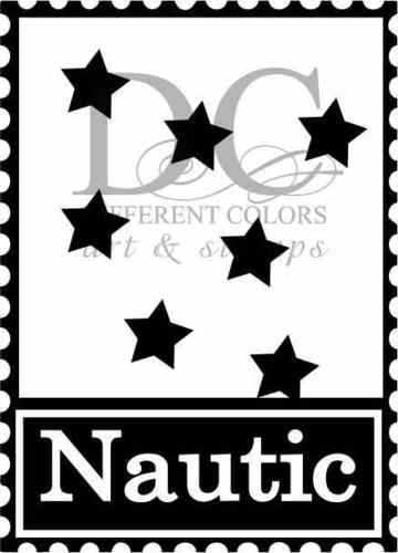 Nautic Label Briefmarke