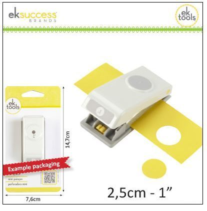 ek success Kreisstanzer 1 inch (2,5cm)