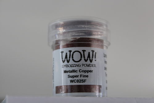 WOW Embossing Pulver Metallic Kupfer Super Fine WC02SF